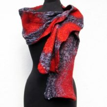 Nancy Wilder Silk & Felt Wearable Art